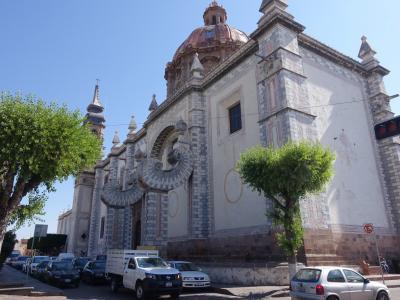 2017新春のメキシコ その7~ケレタロでも教会めぐり、そして本場のバルバッコア