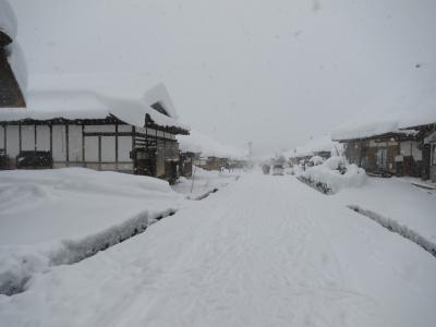 バスツアーで雪の大内宿と樹氷を観に☆1 大内宿編