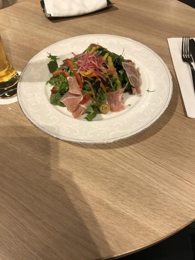独り身男の気まま旅・・・仕事で東京へ。これはチャンス!?とばかりに沖縄経由で東京前日入り(笑)遅れあり、しかもお腹はほぼ満腹、されど〆はちゃっかり大好きなフライヤーズテーブルでいただきます! ☆ANAで空旅④☆