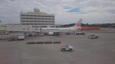 JAL国内線ファーストクラスで行く沖縄2017 搭乗記