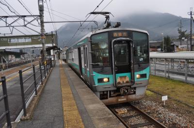 2017年2月おとなびパスの旅13(和田山駅から谷川駅経由で粟生駅へ)