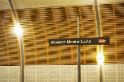 マルタ・ニース・モナコへ行ってみた(^^♪ 6日目① ニースから電車に乗ってモナコへ