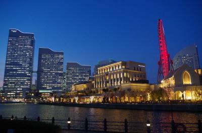 神奈川県横浜市 みなとみらいの夜景に浸る(2017年1月)
