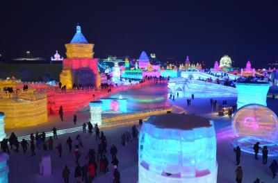 衝撃的な美しさの氷祭りとソ連の街並みが素敵なハルビン