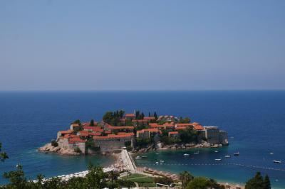 クロアチアへ行ってみた(^^♪ 3日目① モンテネグロ観光!セントステファン・ブドヴァあたり
