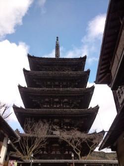 しばれる京都