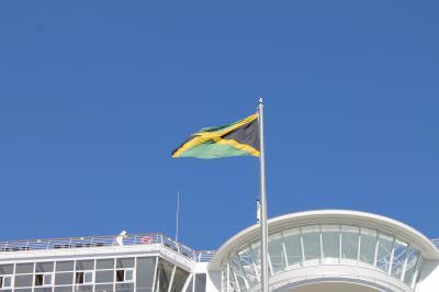 新造船はいいね!西カリブ海ニューイヤークルーズ(6)ジャマイカ ちょっとだけ町歩き