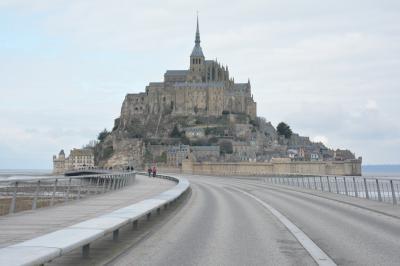 真冬のヨーロッパ&中東 計7ヶ国【4】パリ発モンサンミッシェル日帰りツアー