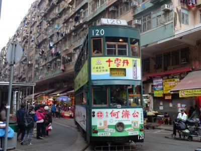 冬の香港 母娘旅 ①