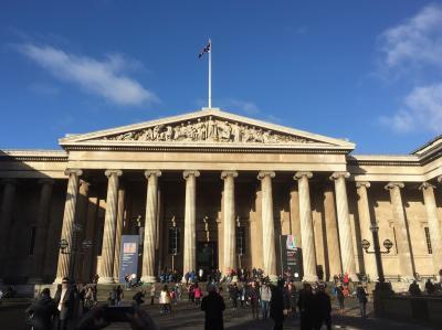 年末年始 ロンドン旅行 ④ 大英博物館