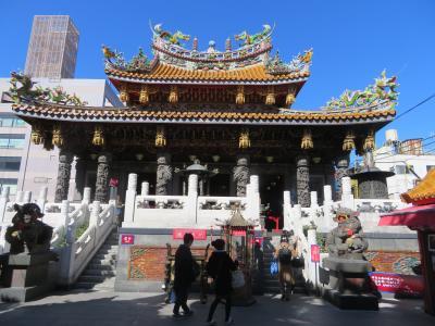 横浜・元町商店街と中華街の散策をしました