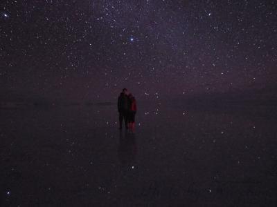 南米旅その11 ウユニ湖に映る満天の星 あこがれ続けた光景が目の前に!!!