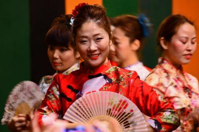 日中友好の第4回犬山春節祭