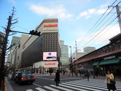 東京・有楽町駅付近の風景