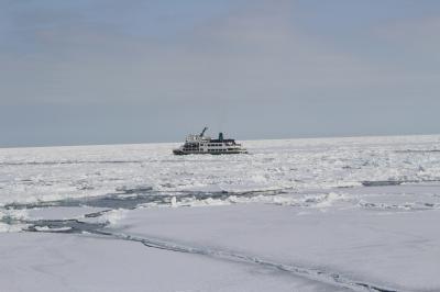 流氷の網走に行ってきました