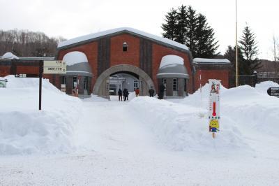 厳冬の網走監獄博物館