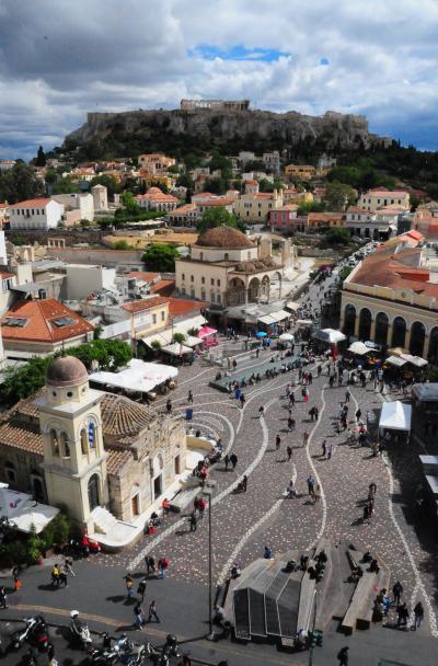 絶景を求めてGWのギリシャその06~アテネ街歩きふたたび