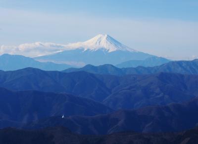 奥多摩駅から雲取山へ / 片っ端から巻きまくり(笑)