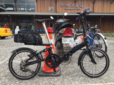 台湾一周サイクリング 池上から中歴まで (台北到着から花蓮編)