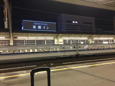 トンボ帰りで姫のおともに東京だい。