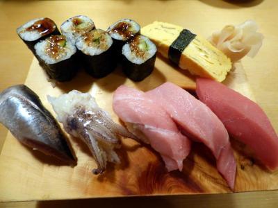 立春直後の東京1泊 寿司居酒屋 や台ずし 大森海岸駅前店の夕食