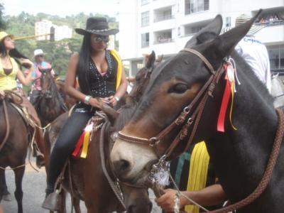 コロンビア・ぺレイラのカウボーイ・カウガール祭り