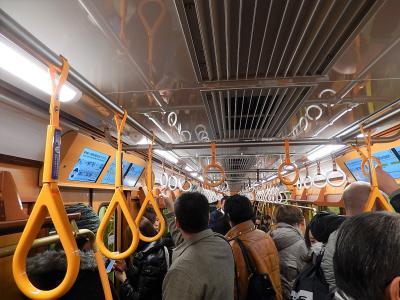 東京メトロ銀座線1000系特別仕様車両に乗る