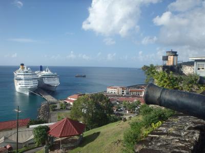 2016年末は南米ギアナ3国とカリブ海10日間の旅♪のはずが・・・(5)5ヶ国目は名前の聞いたことのあるグレナダ