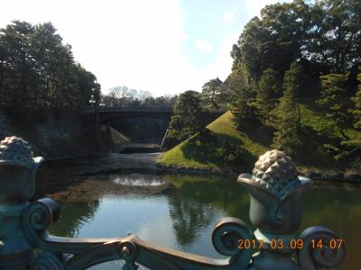 皇居周辺を散策