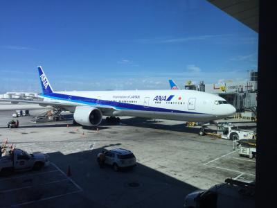 ANAビジネスクラスで日本へ里帰り旅行記 その ③ NH005便 LAX NRT ビジネスクラス搭乗記