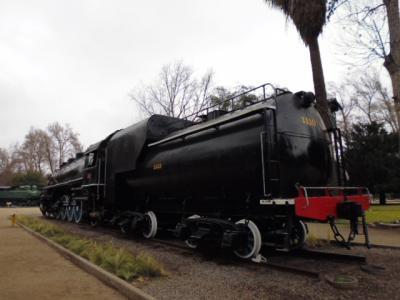 サンチアゴの蒸気機関車博物館公園