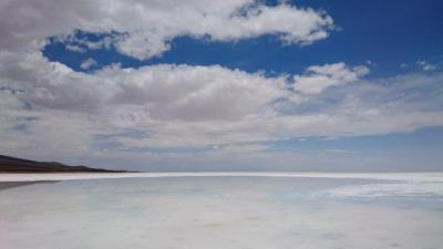 マチュピチュ! ウユニ塩湖! (4) ウユニ塩湖