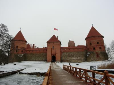 冬のバルト三国・フィンランド8日間の旅④ヴィリニュス~トラカイ~リガ