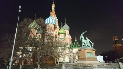 *冬のロシア* モスクワ&サンクト ぶらぶら街歩き(前編)<準備~入国>