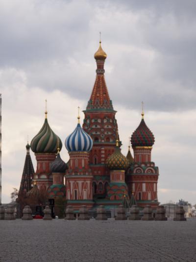 白い花のような街を巡る旅(14)約4時間で、カラーのような街モスクワを駆けまわる!