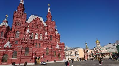 *冬のロシア* モスクワ&サンクト ぶらぶら街歩き(後編)<モスクワ編>