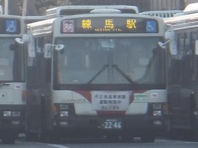 都内の本数僅少路線バスに乗車⑦