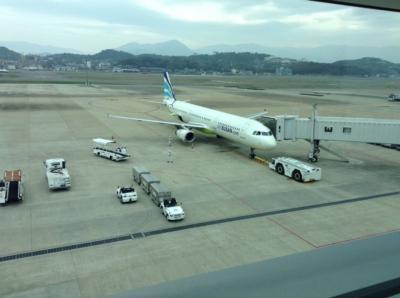 エアプサン福岡ー釜山 搭乗記