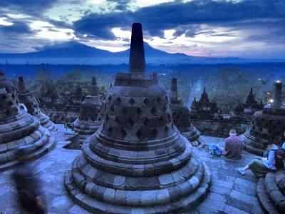 23年ぶりのインドネシア~友達訪ねてジャカルタへ・ついでにボロブドゥール~