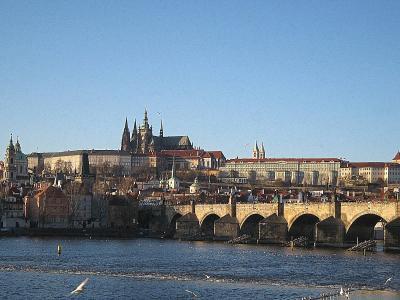 プラハのクリスマス・夜明け
