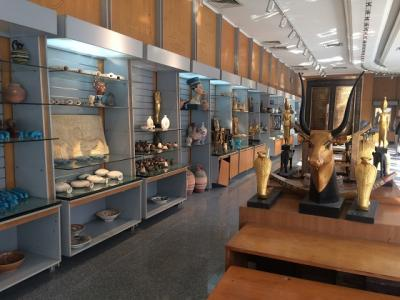 エジプト考古学博物館のレプリカショップ