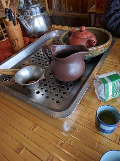 お茶と小龍包を楽しむ台湾旅行?