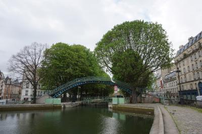 パリ~アルザス・ドライブ #34 - 番外編、パリの下町、サン・マルタン運河