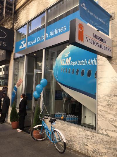 KLM Pop-up Store in San Franciscoに行ってきました!