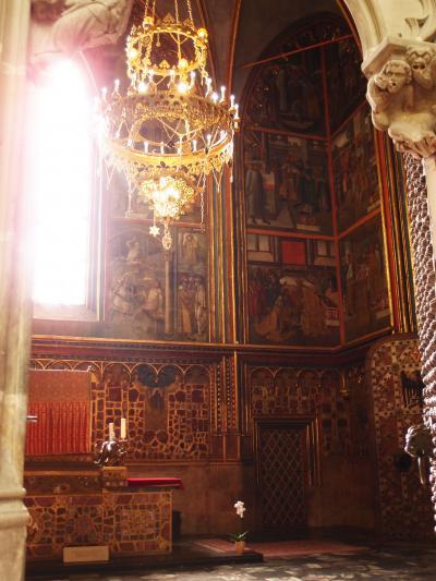 中欧縦断6 神々しい図書館・教会、おとぎの国のプラハ。