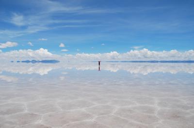「天空の鏡」ウユニ塩湖とニューヨークを一度に楽しむ 第5日:ウユニ塩湖