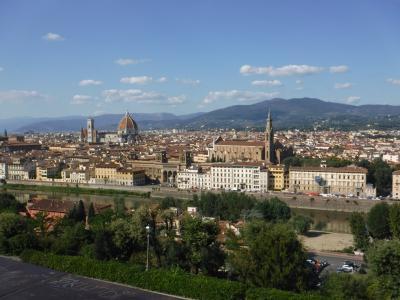 初めてのヨーロッパ♪ イタリア&マルタ 1日目 ◆フィレンツェ◆