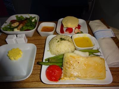デルタ航空 特典ビジネスクラス 弾丸シンガポール、コンラッドクラブルーム