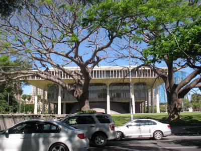 ハワイ州知事室入れるのだろうか?