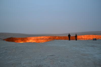 ウズベキスタンとトルクメニスタンに行ってきました!(3日目:ヒヴァ→(国境越え)→ダシャウズ→クニャ・ウルゲンチ→ダルヴァサ(地獄の門))